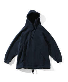 「ラスト1点!!」I (アイ) PLEATED HOOD SWEAT NAVY