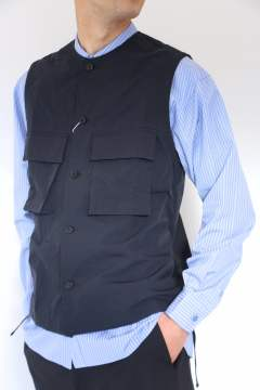 「即日発送可能!!」UNIVERSAL PRODUCTS UTILITY VEST NAVY