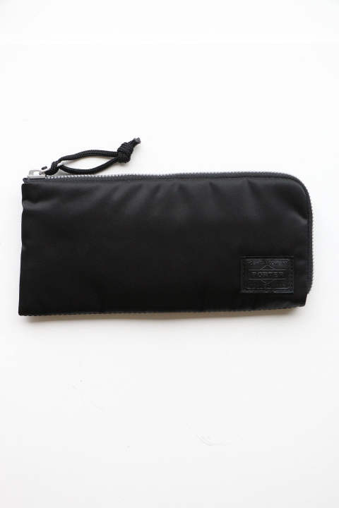 「ラスト1点!!」「即日発送可能!!」bal BAL PORTER® FLGHT NYLON THIN WALLET BLACK (L)