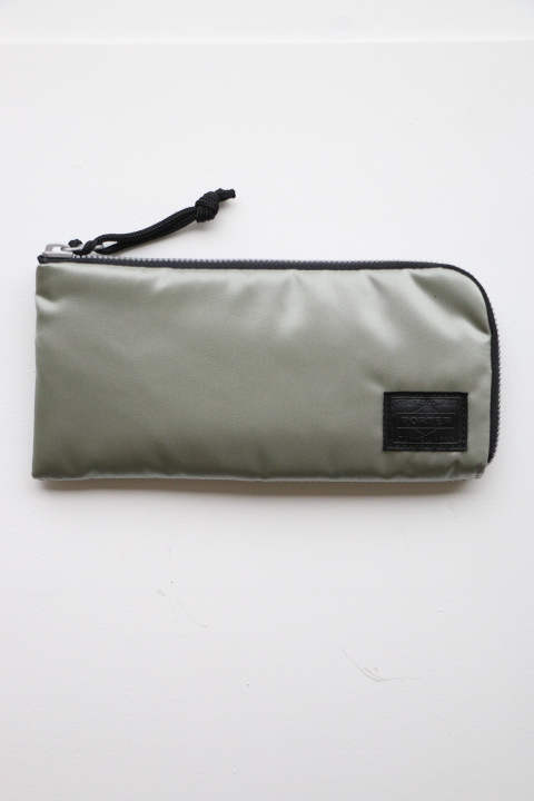 「ラスト1点!!」「即日発送可能!!」bal BAL PORTER® FLGHT NYLON THIN WALLET GREY (L)