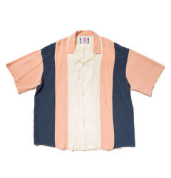 「即日発送可能!!」SON OF THE CHEESE Bowling shirt (PINK)