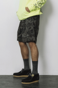 「即日発送可能!!」bal REAL TREE CAMO SHORT PANT CHARCOAL