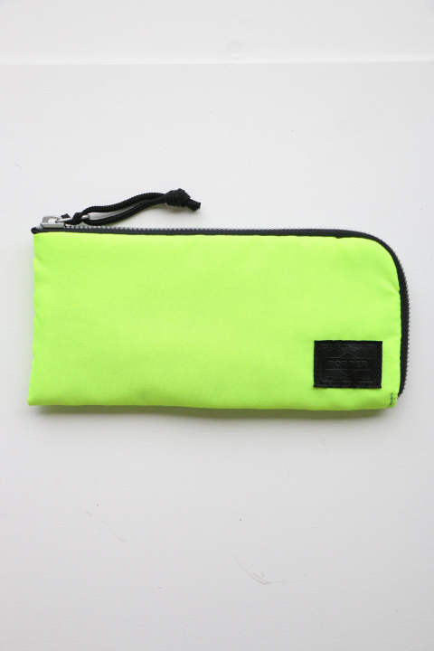 「ラスト1点!!」「即日発送可能!!」bal BAL PORTER® FLGHT NYLON THIN WALLET NEON YELLOW (L)