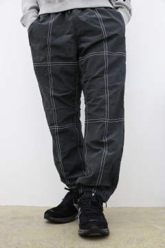 「即日発送可能!!」bal STITCHED NYLON TRACK PANT SMOKY BLACK