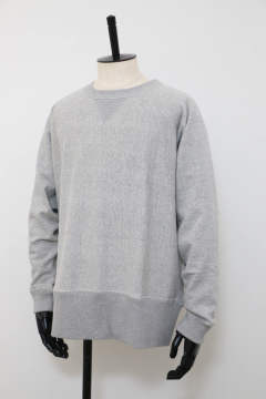 「ラスト1点!!」「即日発送可能!!」bunt LOOP WHEEL CREW NECK SWEAT SHIRTS GRAY