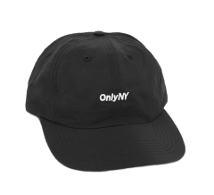 「ラスト1点!!」「即日発送可能!!」ONLY NY Nylon Tech Polo Hat Black