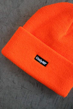 「ラスト1点!!」「即日発送可能!!」ONLY NY Block Logo Beanie Blaze Orange