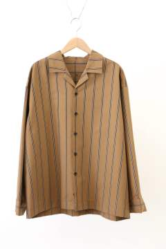 「ラスト1点!!」「即日発送可能!!」VOAAOV Relux Open Collar Shirt Brown