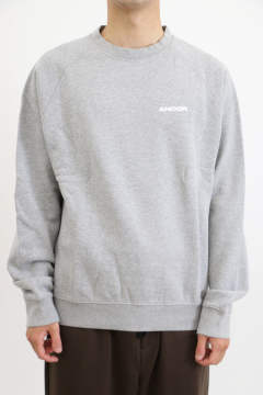 「即日発送可能!!」ANCOR Gris chiné SWEATSHIRTS GRAY