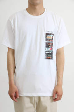 「即日発送可能!!」Abu Garcia PICTURE GRAPHIC TEE 2 White